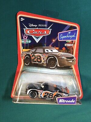 NEW Disney Pixar Cars Nitroade Supercharged Die-Cast Toy Race Car  MATTEL L5263