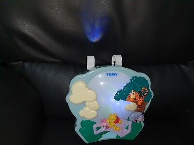 Tomy Winnie The Pooh Sweet Dreams Light Show Musical Projector