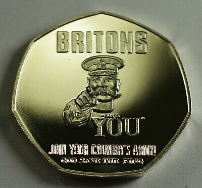 BRITAIN AT WAR 1914 NEWSPAPER Collectors Token/Medal Fine Silver. Lord Kitchener