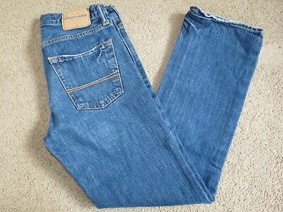EUC Abercrombie denim blue jeans - youth / boys 14 (28 x 28.5)