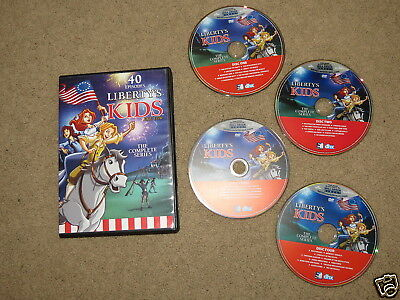 EXCELLENT 40 episodes of Libertys Kids - The Complete Series - 14+ hrs