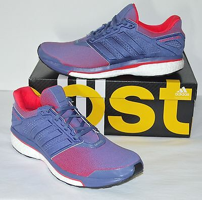 2ffe823a4 New  130 Adidas Boost Womens Supernova Glide 8 W Running Purple Pink White  sz