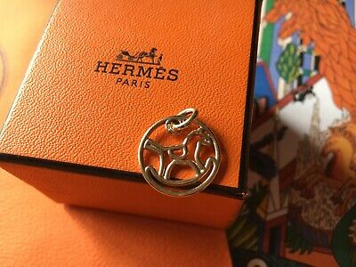 bff04d2a45393 AUTHENTIC! HERMES 18K Rose Gold Collier De Chien Lock Band Ring Size ...