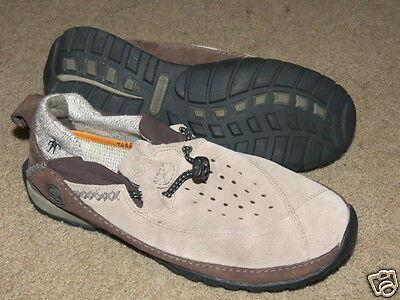 Details about Timberland Smartwool 38973M brown suede leather Shoes mocs sandals mens sz 6.5