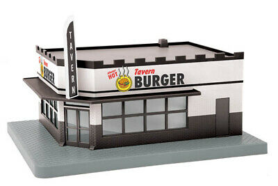 MTH 30-90392 Tavern Burger Single Story Corner Store