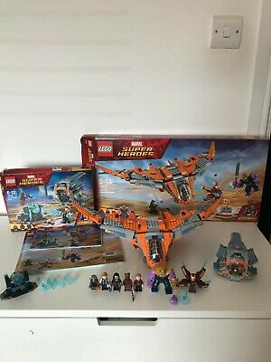 Lego Marvel Super Heroes 76102 76107 With Boxes And Instructions, Excellent