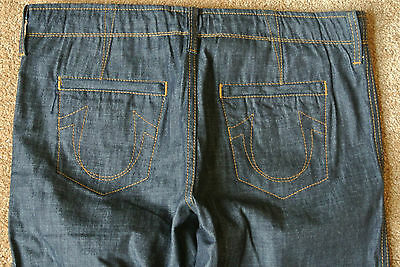 1ced22d1 TRUE RELIGION ROMAN PHOENIX Chino Jeans 34X32 NWOT$294 Button-Fly!  Drawstring!