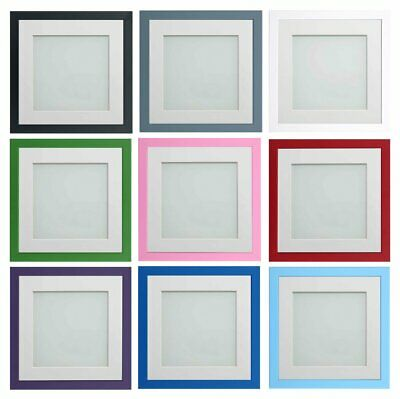 Frame Company Colourful Bright Instagram Square Picture Photo Frames and mount