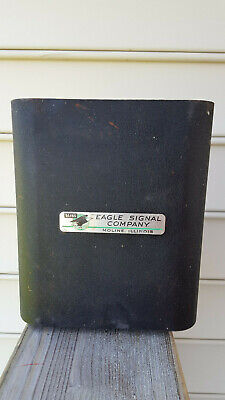 Vintage Eagle Signal Company Traffic Light Flasher Control Box -BOX ONLY -