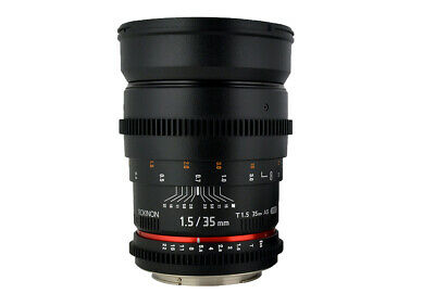 Rokinon Cine 35mm T1.5 AS IF UMC Full Frame Cine Lens f/ Canon EF- CV35-C