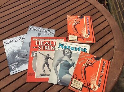 Collection Of HEALTH & STRENGH,THE NATURIST,HEALTH and VIGOUR from 1930s