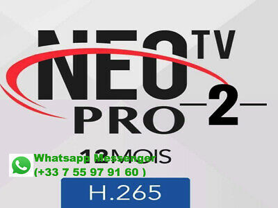 NEO TV PRO 2 ACTIVATION CODE 12 Months MAG Android M3U Smart TV VLC