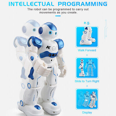 Smart Robot Toys Remote Control Robot Gift for Boys kid's Companion Intelligent