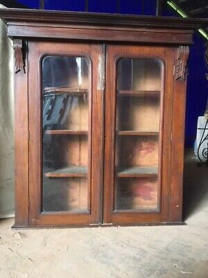 Victorian Glass Fronted Cupboard