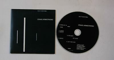 Craig Armstrong As If To Nothing UK Cardcover CDSingle 2002