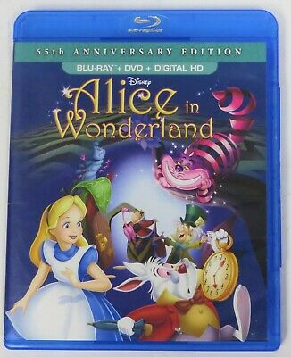 Alice In Wonderland 65th Anniversary Edition Club Exclusive Blu-ray/DVD - Disney