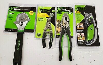 Greenlee 4-PC Mix Hand Tools
