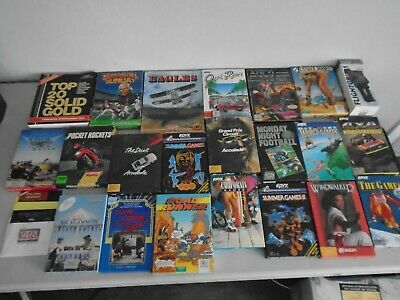 COMMODORE 64 GAME Manuals Instructions Only Lot of (18