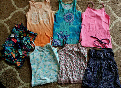 a6b771f8269019 LOT OF 2 Justice Tank Tops Girls Size 6 Excellent Pre-Owned ...