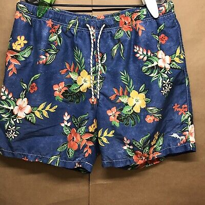a43f266104 Tommy Bahama Relax Mens Trunks Bathing Suit Swim Shorts Size XL Tropical  Floral
