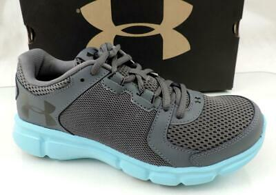 buy popular 82a25 b953b UNDER ARMOUR WOMENS Thrill Blue Running Shoes Size 9 (384593 ...