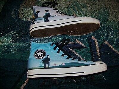 e9e31b705bd4 Vintage PINK FLOYD Converse Chuck Taylor All-Star Shoes Sz 10 WISH YOU WERE  HERE