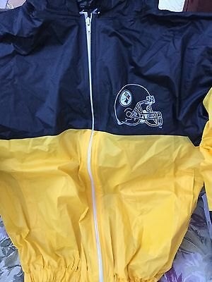 big sale 41ea9 035cd PITTSBURGH STEELERS RAIN Poncho Adult - $12.00 | PicClick