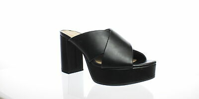 26423c8561e Chinese Laundry Womens Teagan Black Smooth Heels Size 7.5 (266850)