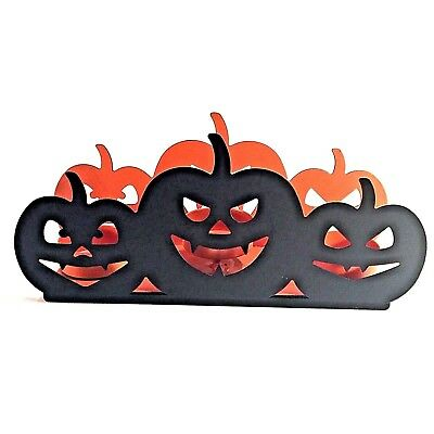 9a00510f0d Yankee Candle All Hallows Eve Jack O Lantern Multi Tealight Holder New 2017
