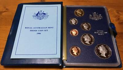 1986 Australian 7 Coin Proof Set..original