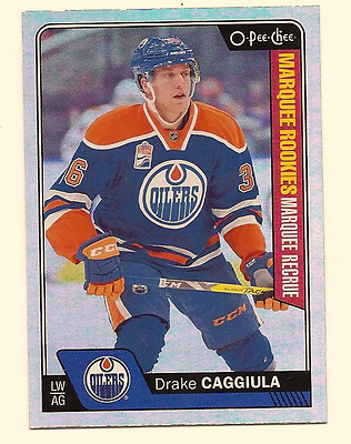 Drake Caggiula 2016-17 Upper Deck Series 2 O-Pee-Chee Opc Update Rainbow Foil