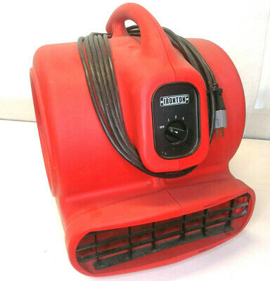 Ironton 1 HP Multi-Use Blower Air Mover Carpet Dryer Thermally Protected 52721