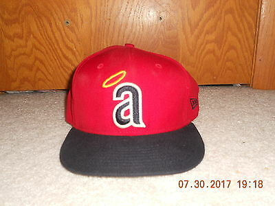 on sale 9e1cd cf4ca California Angels Hat New ERA Cap 5950 7 1 2 Cooperstown Collection 70s  Little a