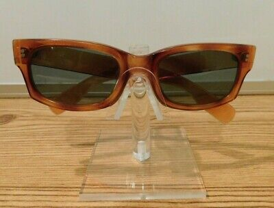 8baddc6dad11 Vintage 1960s Cool Ray N135 Cari Michelle Polaroid tortoise Rectangle  Sunglasses
