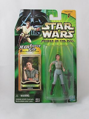 Star Wars Power Of The Jedi  Leia Organa General Action Figure Potj