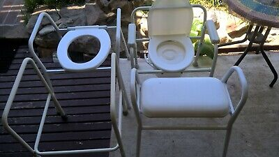 assorted shower and toilet chairs , 4 items, aged care,pick up north ryde