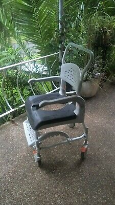 age care shower chair, commode chair, toilet chair loo