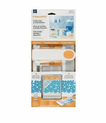 NEW Fiskars AdvantEdge Punch System Starter Set