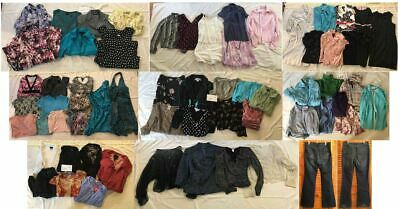 HUGE Mixed Lot of 62 Teen/Women's XS/Small/Medium Size 2/4/6 Clothing
