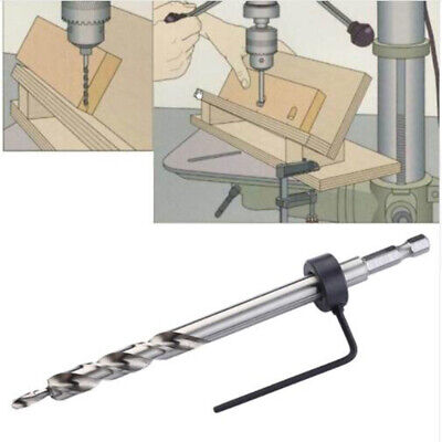 Pocket Hole Guide Step Drill Bit Depth Stop Collar hex Hex Step Twist Drill AG