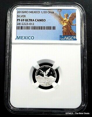 ☆☆ 2016 MO Mexico 1/20oz Silver Proof Libertad NGC PF69 UCAM ~ Libertad Label ☆☆