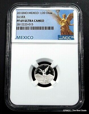 ☆☆ 2016 MO Mexico 1/20oz Silver Proof Libertad NGC PF69 UCAM - Libertad Label ☆☆