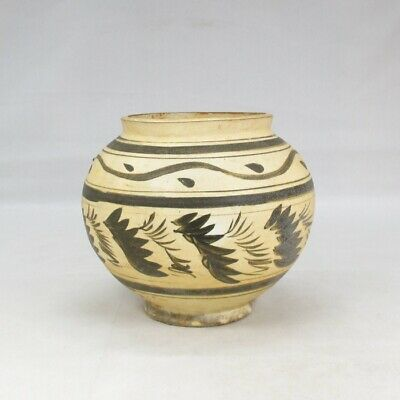 F304: Chinese vase of porcelain of JISHUYO style with appropriate work and tone