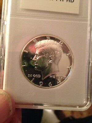 1964 Kennedy Half Dollar Proof Cameo 90% Silver 💥stunner💥