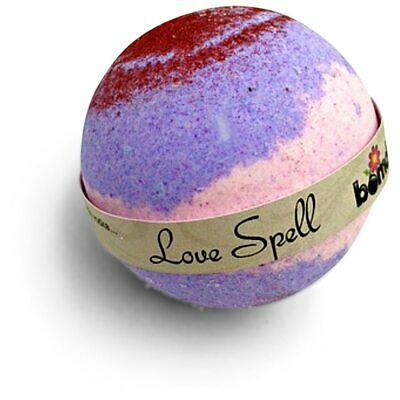 Love Spell Shimmer Bath Bomb with Bubbles