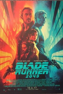 MAD MAX + Blade Runner 2049 + GHOST IN THE SHELL - 3 CINEMARK Movie Poster LOT