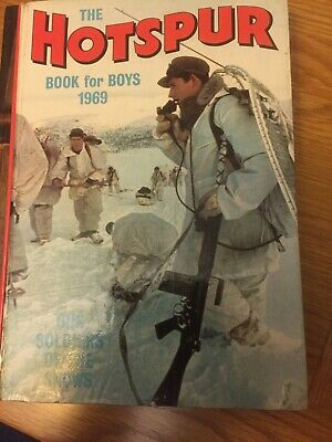 1969 Hotspur Book For Boys in excellent condition.