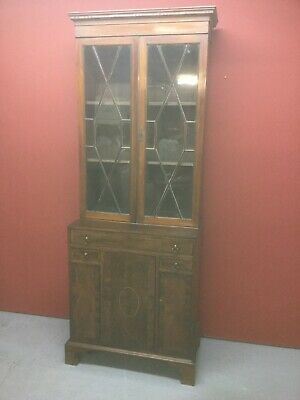 Antique Mahogany Bookcase Sn-218a