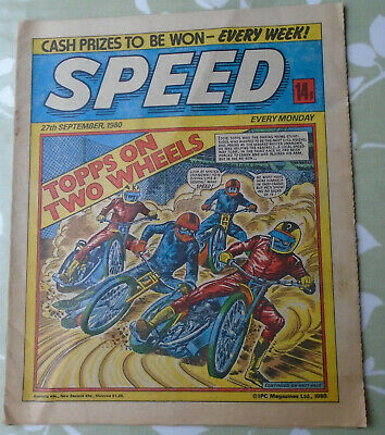 SPEED COMIC - 27 September, 1980