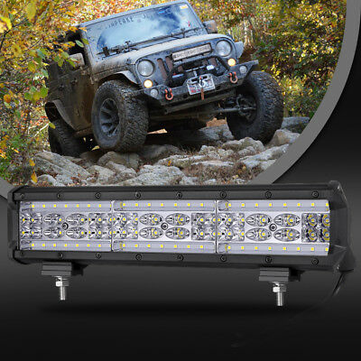 Combo Beam 2 Years Warranty Flood + Spot LED Light Bar by BeamCorn,2Pcs 4 Inch 120W 12000Lm Led Pods Super Bright Backup Driving Off Road Lights for Vehicles Truck Car ATV SUV Jeep Boat Yard